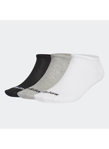 adidas Adidas Ge1382 Low Cut 3Pp Çorap Renkli